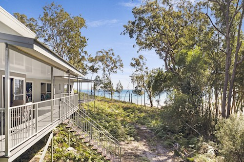 Ocean Retreat Fraser Island House